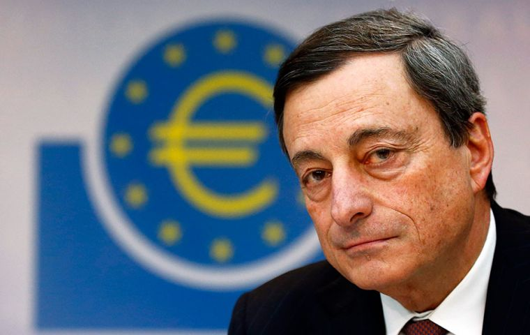 Dragui last month said that the 24-member ECB council was dissatisfied with the projected path of inflation