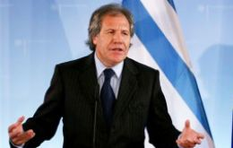 Almagro said Uruguay has a long standing policy going back to the XIX century regarding refugees