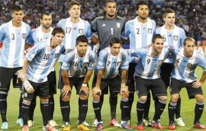 Argentina's team is considered among the favorite of the Cup because of the players and 'half-host'