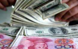 The US figures only behind Singapore and UK in Yuan payments value