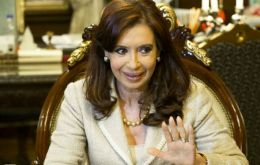 """There is a difference between negotiation and extortion"" Cristina Fernandez said after the Supreme Court decision"