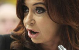 The administration of Cristina Fernandez wants a seven year grace before reducing some tariffs