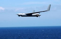 ScanEagle is a maritime reconnaissance asset for gathering intelligence