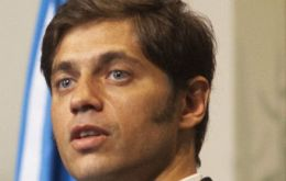Kicillof has been invited to address the G77 plus China group