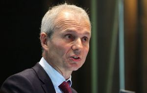 David Lidington's visit comes in advance of a return by the EC to review progress at the border