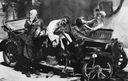 The Archduke Franz Ferdinand and his wife were shot dead in Sarajevo by Serb terrorists