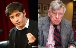 "Axel Kicillof remarked that Griesa ""sought to cancel the payment which was already deposited yesterday"""