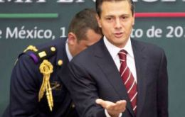 Mexican President Enrique Peña Nieto's goal is a production of 3 million barrels of oil per day by 2018