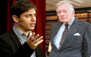 Kicillof is trying to blame holdouts and Judge Griesa for the current situation