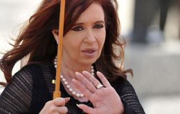 Suspending her trip to Paraguay means Cristina Fernandez won't be replaced by vice-president Boudou indicted for corruption