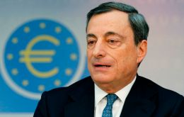 The ECB president said he want inflation back at 2% from the current 0.5%