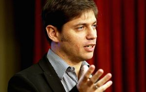 Kicillof apparently will not be part of the Argentine delegation