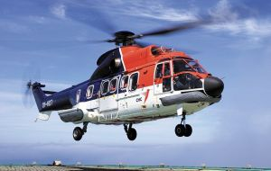 Canadian Helicopter Corporation' Super Puma helicopters