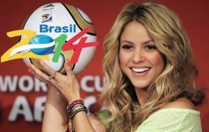 Colombia's Shakira will be the main artistic attraction of the final ceremony together with other singers and a samba group