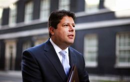 Gibraltar's Picardo is president of the UK Overseas Territories Association.