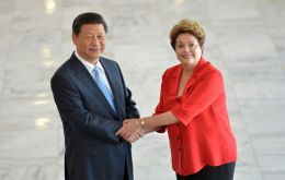 Presidents Xi and Rousseff seal the close relationship