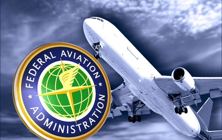 The Federal Aviation Administration ordered the ban and said it would continue to monitor the situation.