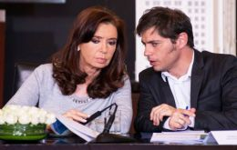 The latest release followed a meeting between President Cristina Fernandez and minister Kicillof