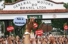 General Motors Co wants to put nearly a fifth of its workers at a factory in Brazil on paid leave, an auto workers union said this week, amid falling output in Latin America's largest economy.