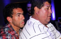Segundo Tevez was first car-jacked, but when criminals realized he was Carlitos father they returned and abducted him
