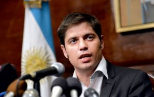 According to Kicillof, Judge Griesa is allowing 1% of holdouts to block 92.4% of bondholder from collecting their coupons