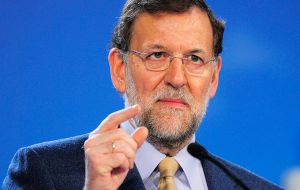 Rajoy insisted once again the referendum was unconstitutional and he would block it