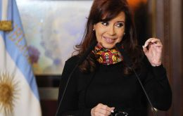 """Every time that Argentina has become viable, that is when the missiles and permanent bombardments begin"" said the Argentine president"