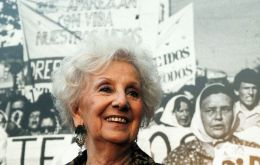 Estela de Carlotto, president of Grandmothers of Plaza de Mayo