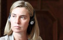 Ms Mogherini said it was essential for Europe to have closer trade and political links with other regions of the world.