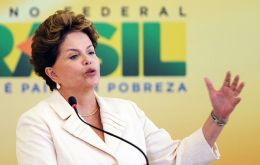 """Stop blaming us because we are ready, we have our proposal ready"", Rousseff told the lobby of Brazilian farmers"