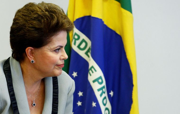 President Dilma Rousseff, who is running for re-election on Oct. 5, has kept fuel prices below international levels to curb above-target inflation