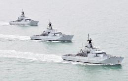 Royal Navy's current River Class vessels will be improved so that Merlin helicopters can operate