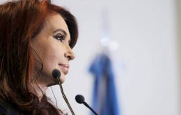 Cristina Fernández said the collapse of a private deal proved what she has long said: 'vulture funds' do not want to reach an agreement