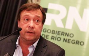 "Alberto Weretilneck: ""I am being pushed out of the Victory Front by the expulsive attitude of the Río Negro PJ's leaders"""
