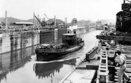 Built by the US in a 10-year construction effort after a failed French dig, the 77-km-long canal opened on Aug. 15 1914, becoming a vital global trade route.