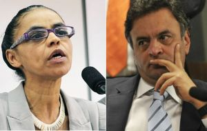 A new survey to be published on Monday will show whether Marina Silva has more support than Neves.
