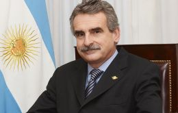 """Statements on the Malvinas war from minister (Jorge) Burgos have been well received by the Argentine people"", said Rossi"
