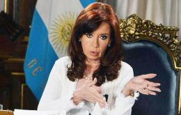 "CFK said debt holders can swap their bonds for notes with ""identical terms and financial conditions, and with equal nominal value"" under Argentine law."