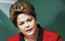 """We have had and still have many problems and challenges to take on in health care,"" Rousseff said during the broadcast from the Alvorada Palace"
