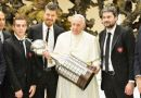 """In a very special way, I greet South America's champions San Lorenzo. They are part of my cultural identity,"" said the pope"