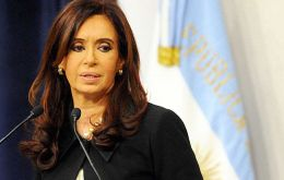 Tuesday evening President Cristina Fernandez revealed a plan to shift interest payments to holders of the country's restructured bonds to an Argentine bank