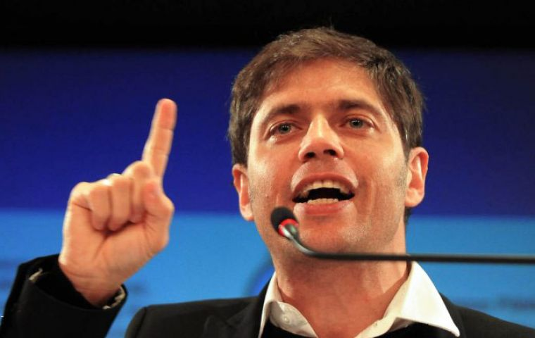 Kicillof, the all powerful minister who is at the centre of the clash with New York justice
