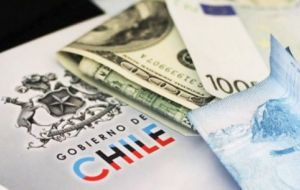 The Chilean currency has slipped 19% versus the dollar since January 2013