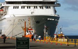 According to Punta Arenas port company, 103 cruise vessels will be calling this coming September/April season