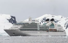 Bark Europa with 40 pax, will be the smallest cruise to visit South Georgia and the largest the 450-passenger Seabourn Quest.