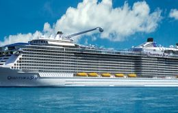 "Royal Caribbean's 'Quantum of the Seas' or ""The World's First Smart-ship"" will be launched next month in Germany"