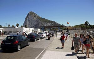 """Double-lock"" on sovereignty is the keystone of UK's policy on Gibraltar, the government tells Parliament"