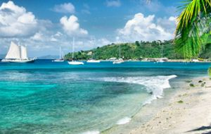In St. Vincent and the Grenadines, an estimated 18-30 meters of beach have been lost over the last nine years.