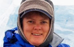 """Claudia (pic) has had a big impact on the association over the last two and a half years with her fresh ideas, knowledge and experience of the Antarctic tourism industry."" said"