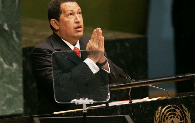 When Chavez last tried for a seat in 2006, the United States succeeded in torpedoing his campaign. This year, Washington has been mum.